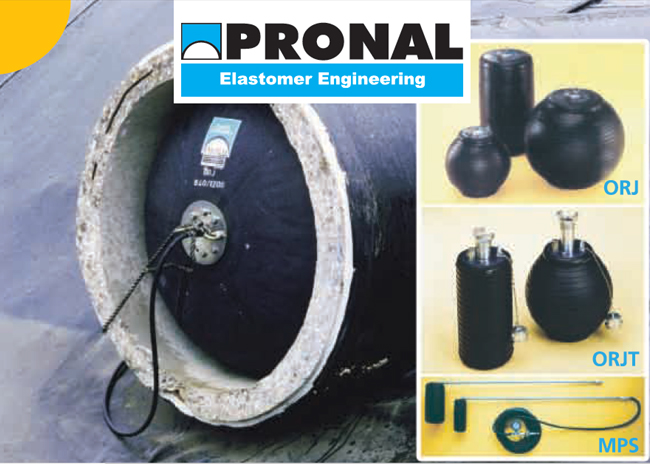 PRONAL可充气堵塞体大小型VARI PLUG