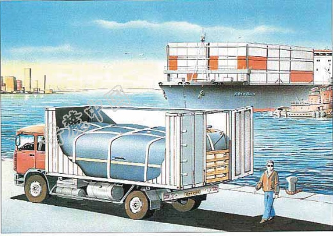 PRONAL储水囊货柜式储水囊CONTAINER TANK产品新图